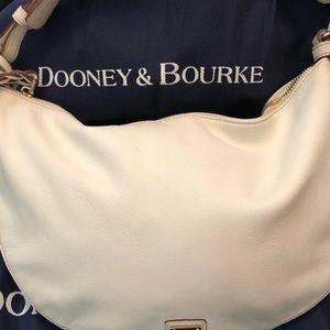 White Dooney & Bourke Hobo Handbag
